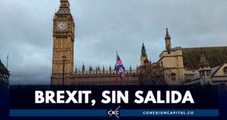 """Parlamento británico rechaza acuerdo """"mejorado"""" del brexit"""