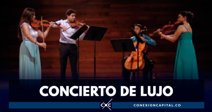 Noche musical en el Planetario de Bogotá