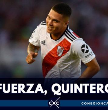 Juan Fernando Quintero se queda por fuera de la Copa América por lesión