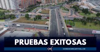 Puente de la calle 183 con Autopista pasó prueba de carga