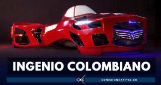 El colombiano que busca despegar en la industria de los carros voladores
