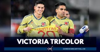 Colombia ganó partido amistoso frente a Japón