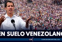 Juan Guaidó ya está en Venzuela