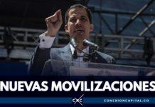 Juan Guaidó convoca movilizaciones en Venezuela