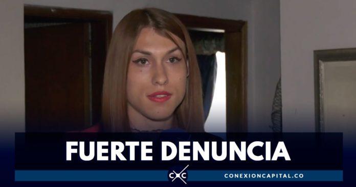 denuncia mujer trans
