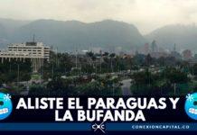 temporada de lluvias en Bogotá
