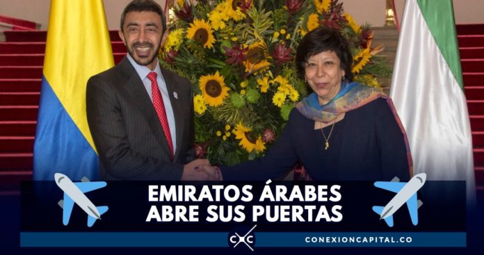 colombianos podrán viajar emiratos árabes sin visa