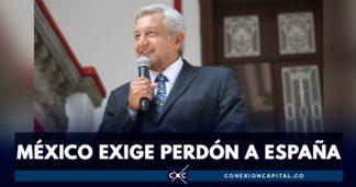 presidente de México pide perdón a España