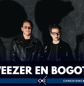 weezer hará concierto en bOGOTÁ