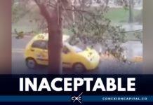 taxista arrolla a menor de edad y huye