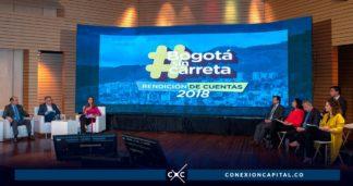 rendición de cuentas alcaldía de Bogotá