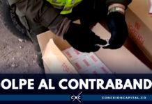 Autoridades incautaron 600 millones de pesos en mercancía ilegal