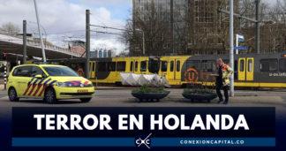 Tiroteo en tranvía de Holanda deja varios heridos y un muerto
