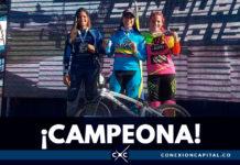 Mariana Pajón conquistó la Copa Sudamericana de BMX en Argentina
