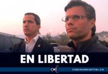 Militares venezolanos liberan a Leopoldo López y junto a Guaidó llaman a la Operación Libertad