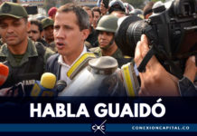 """Vamos a resistir pidiendo a los militares que se incorporen a esta lucha por Venezuela"": Guaidó"