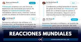 Reacciones de líderes mundiales tras liberación de Leopoldo López
