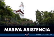 Más de 195.000 personas visitaron Monserrate durante la Semana Santa