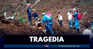 Aumenta a 17 el número de personas muertas por deslizamiento de tierra en el Cauca
