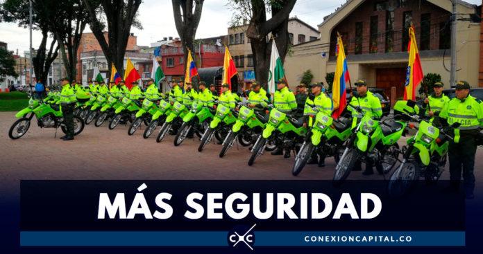 Alcaldía Peñalosa entregó 22 motos para reforzar la seguridad en Teusaquillo