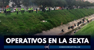 Policía realizó operativos en el canal Comuneros