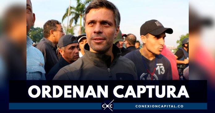 Tribunal venezolano ordenó la captura de Leopoldo López