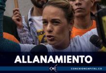 Lilian Tintori denuncia que fuerza pública allanó su casa en Caracas