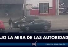 EN VIDEO: así roban a vehículos en el canal de los Comuneros