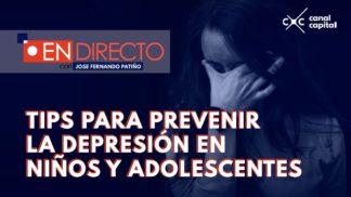 ¿Cómo evitar la depresión en niños y adolescentes?