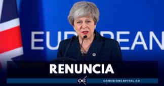 Theresa May anuncia su renuncia como primera ministra de Reino Unido