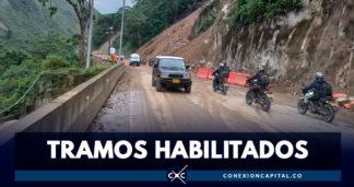 Reabren vía Bogotá - Villavicencio