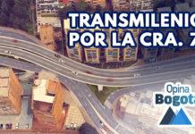 ¿Por qué suspendieron TransMilenio por la Séptima?