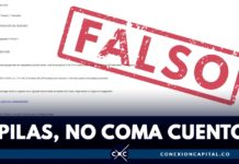 correos falsos notificación comparendo
