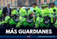 nuevos policías para Bogotá