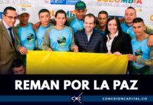 exguerrilleros bandera colombia