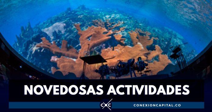 actividades en el planetario de Bogotá