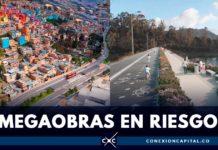 obras de Bogotá paralizadas