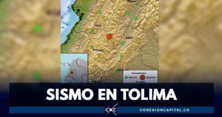 Sismo sacude el centro de Colombia