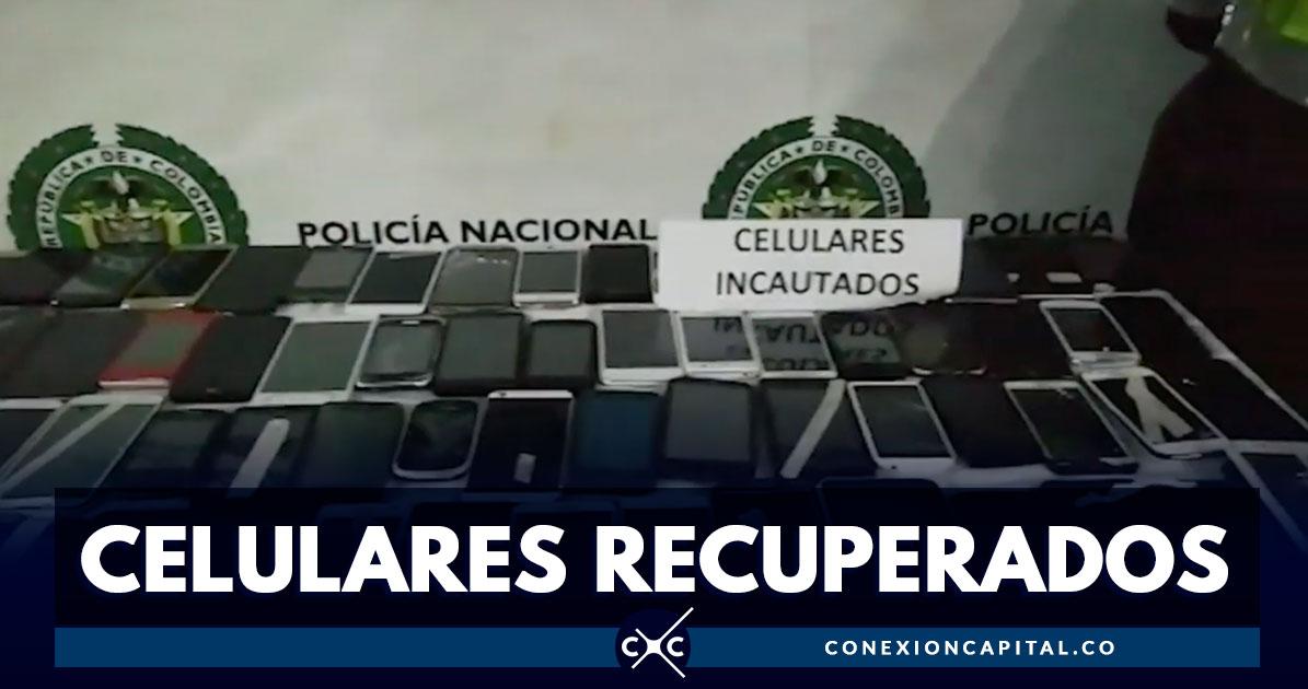 5722dadb08 Autoridades recuperaron cerca de 124 celulares robados