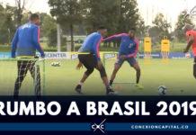 Selección Colombia se alista para la Copa América