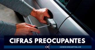 Bogotá: once vehículos son hurtados cada día