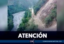 Cierre indefinido en la vía Bogotá - Villavicencio