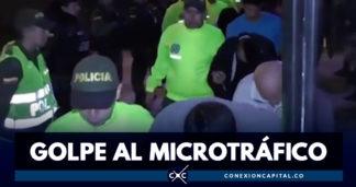 Desarticulan banda dedicada al tráfico de estupefacientes en Mosquera