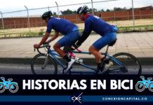 Bicicletas tándem, una hermosa tendencia en Bogotá