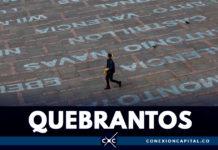 """""""Quebrantos"""", una acción de duelo que honra la muerte de líderes asesinados"""