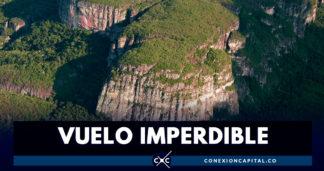 Iniciaron los sobrevuelos turísticos por el Parque Chiribiquete