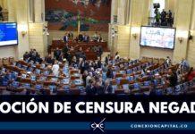 Congreso negó la moción de censura contra el ministro Botero