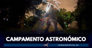 campamento astronómico en el Planetario