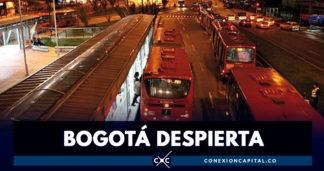 Este sábado, TransMilenio operará hasta la media noche