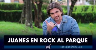 Juanes, preparado para romperla en Rock al Parque 2019